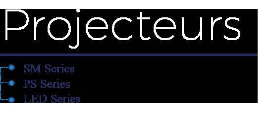 Projecteur Simem